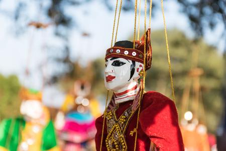 tradition: Tradition Myanmar Doll, The Myanmar souvenir soft focus.