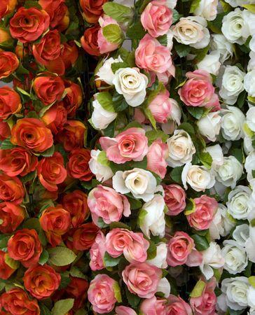 Artificial roses for indoor flower arrangements