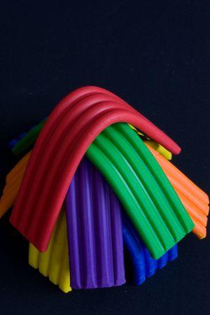 Plasticine strips
