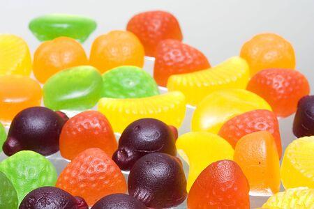 Fruit sweets underlit