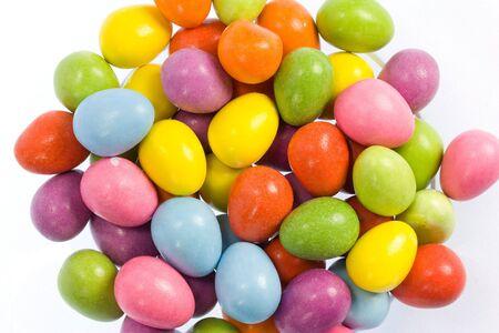 Candy coated chocolate mini easter eggs