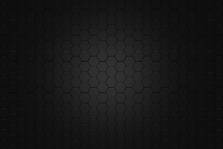 metalic: abstract Digital futuristic honeycomb background design metalic look