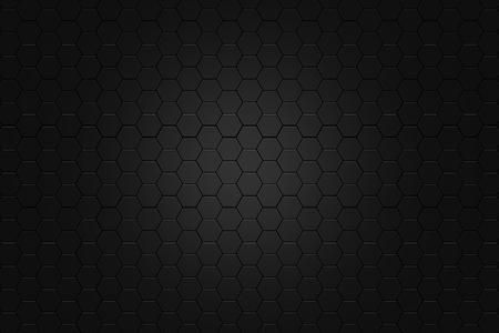 metalic background: abstract Digital futuristic honeycomb background design metalic look