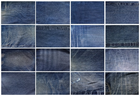 bluejeans: Collection of blue jeans background