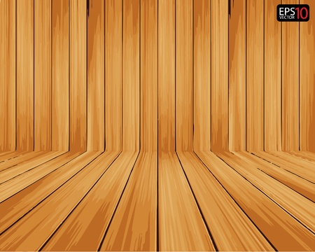 wooden planks: Creative Vector Wood Background