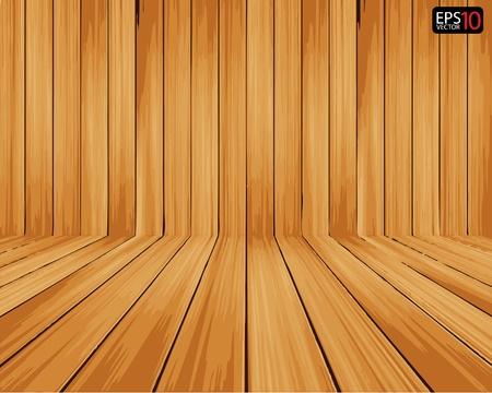 maderas: Vector Creativo Fondo de madera