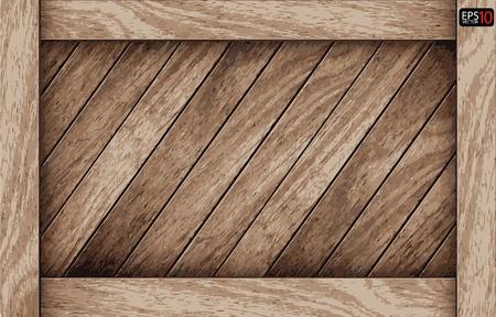 caoba: Madera Vector cuadro de fondo Vectores
