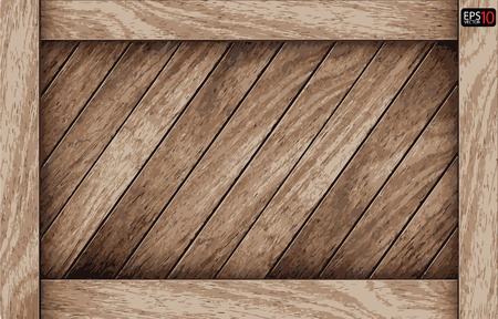 shadowy: Vector Wood box background