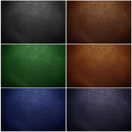texture leather:  leather texture closeup. Useful as background for design-works. Stock Photo