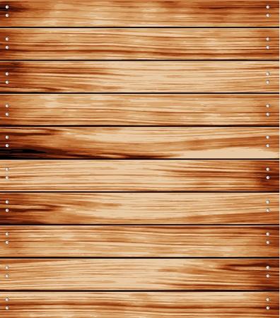 pannello legno: Texture di sfondo in legno. illustrazione vettoriale.