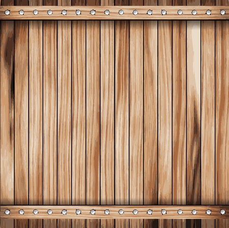old wooden door: Wooden texture background  vector illustration