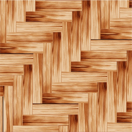 Vector wood parquet floor  Vector eps10  Stock Vector - 13395402
