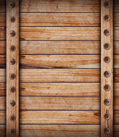 wooden box: old wood background Stock Photo