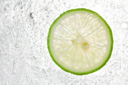 Lemon In Ice background  photo
