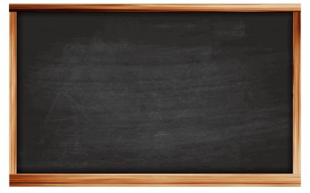 siyah: vektör Blackboard kara tahta doku Boş boş siyah kara tahta Çizim