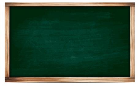 green chalkboard: Vector Blackboard chalkboard texture  Empty blank green chalkboard  Illustration
