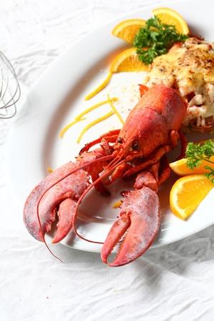 lobster: 랍스터 테르미도르 샐러드