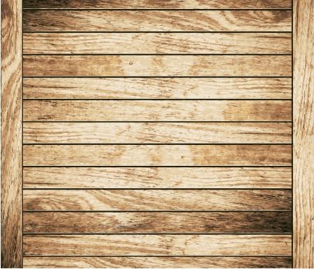 muebles de madera: Tabl�n de madera de textura de fondo marr�n, ilustraci�n Vectores