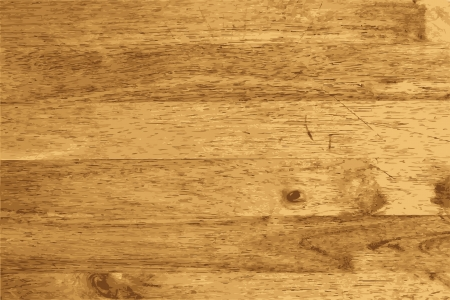 boarded: Wood plank brown texture background, illustration  Illustration