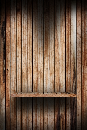 wood shelf design background Stock Photo - 16145478