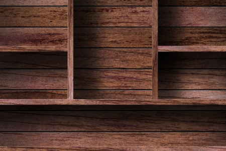 wood shelf design background Stock Photo - 16145469