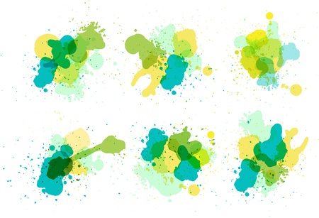 Vector watercolor splatter  Stock Vector - 16697089