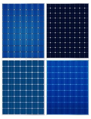 Paneles solares, colecciones