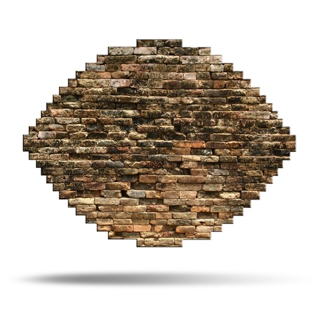 porous wall for background  photo