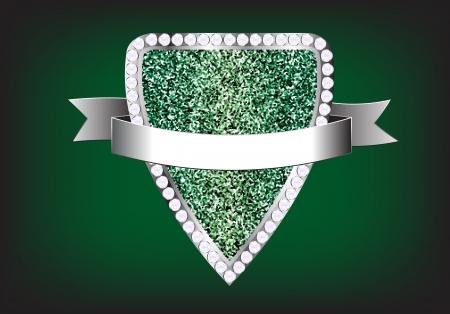 Design elements label diamond sparkle glitter background, Vector illustration template Vector