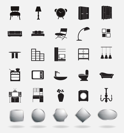 furniture icons photo