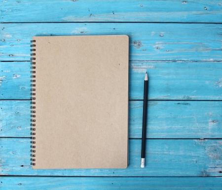 sketchbook: Notebook on desk
