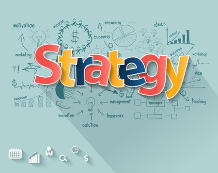 Business strategy concept