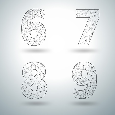 number 6 templates