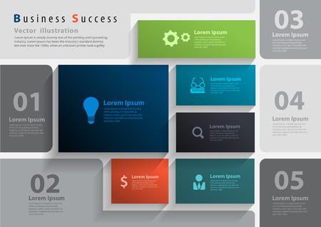 Vector layout template design, brochure, flyer, magazine cover, poster banner Illustration