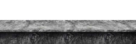 Table top concrete loft style, Used for display or montage your products, isolated on white background