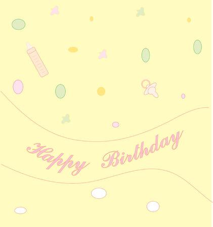 Celebratory card  Vector