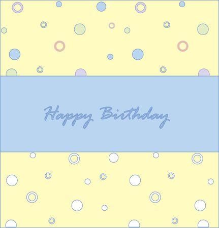 Celebratory card with an inscription  photo