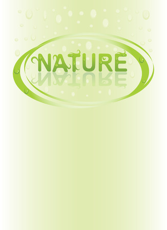 abstract nature background Illustration