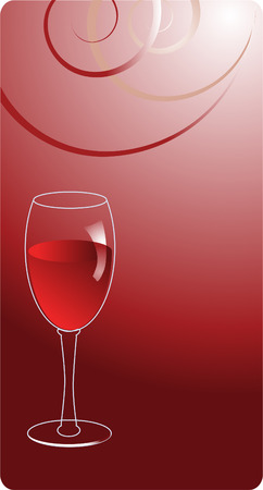 abstract wine background Illustration
