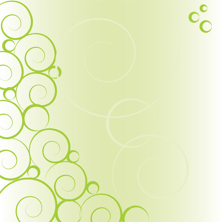 abstract green vector background Stock Vector - 4903229