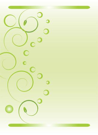 abstract green vector background Stock Vector - 4903230