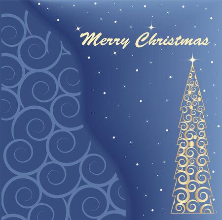 christmas vector card Stock Vector - 5751161
