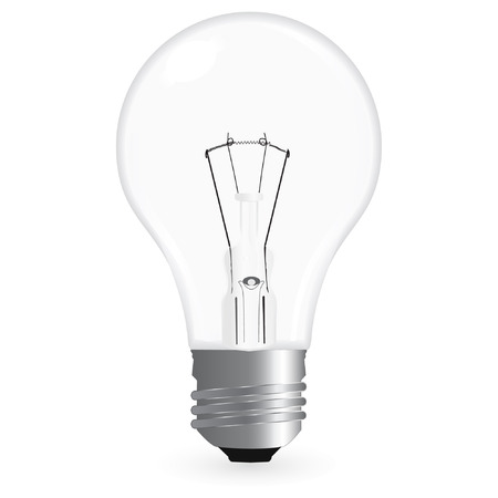 bulb isolated on a white background