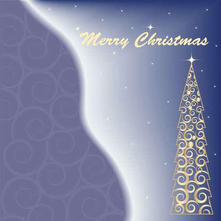 vector christmas card Stock Vector - 6092151