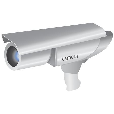 silver camera  Illustration