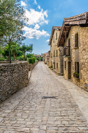 stoned: Tavertet, a very little town in Catalonia (Spain) with beautiful houses and stoned alleys