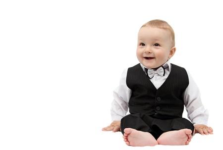 Glücklicher Junge im Anzug Standard-Bild - 20487747