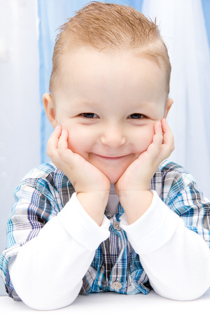 beautiful child smile