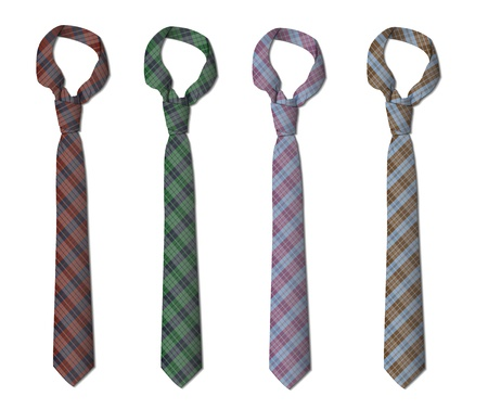 Illustration of set of ties Stock Vector - 15654391