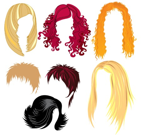 haircutter: Set of hair styling